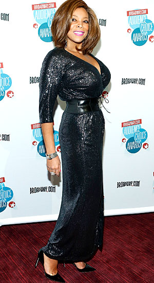 Wendy Williams shows off her slimmer figure. (WireImage)