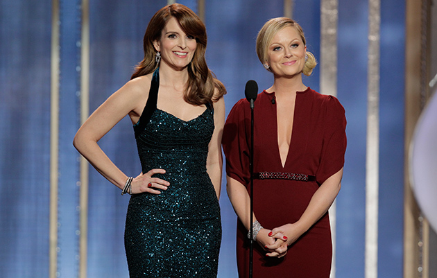 Tina Fey and Amy Poehler host the Golden Globes (Getty Images)