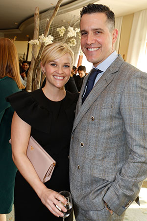 Reese Witherspoon and Jim Toth, December 2012 (Alexandra Wyman/Getty Images for Walk of Dimes)