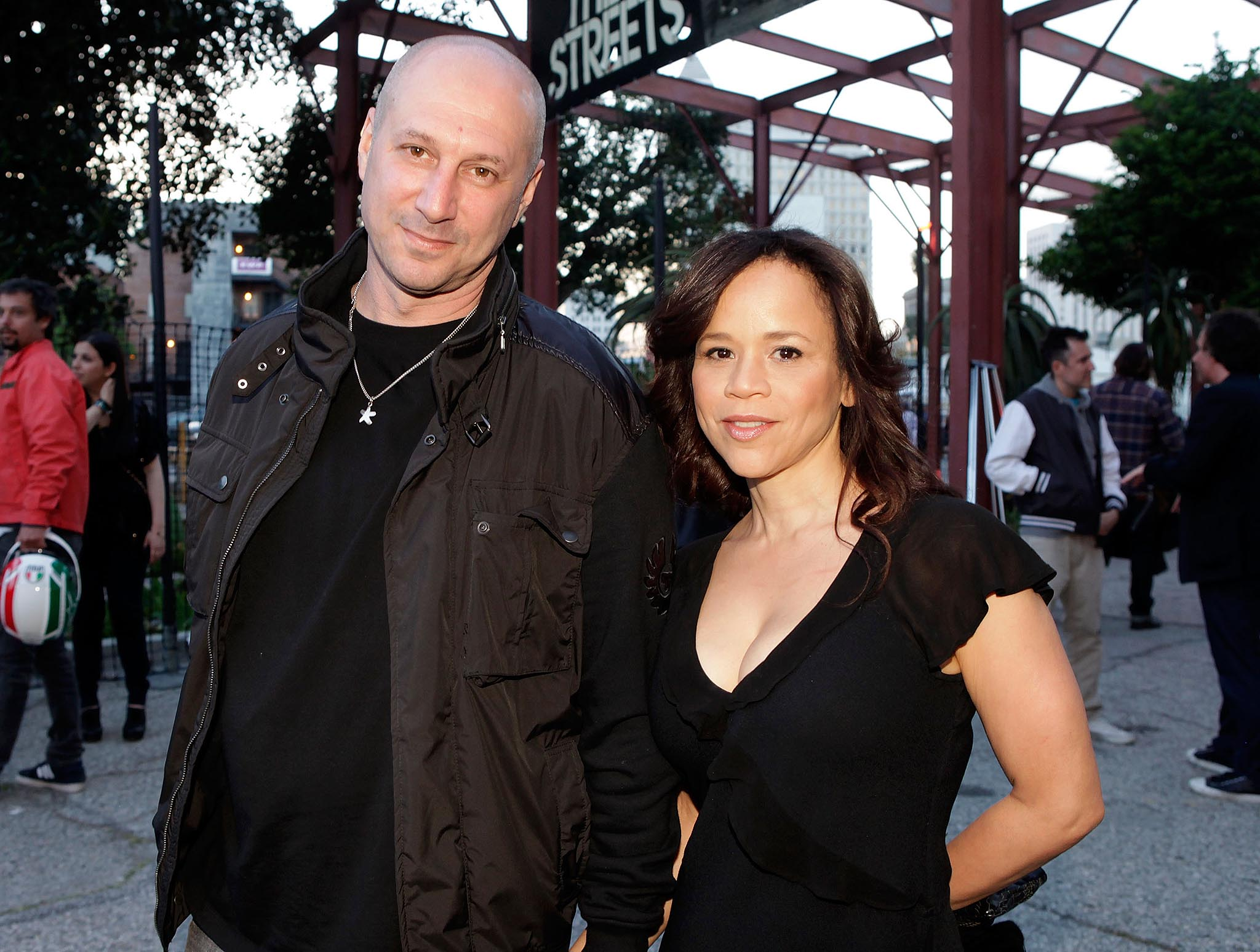 Eric Hayes and Rosie Perez (WireImage)