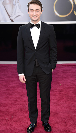 Daniel Radcliffe at the Oscars in February 2013 (WireImage)