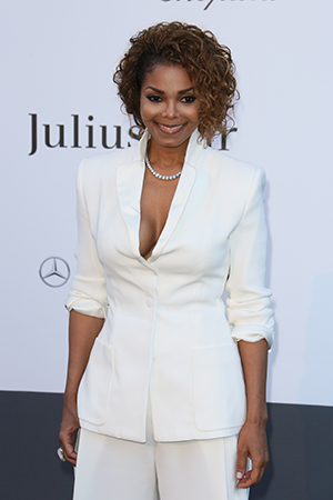Janet Jackson at the 2013 Cannes amfAR benefit (Tony Barson/FilmMagic)