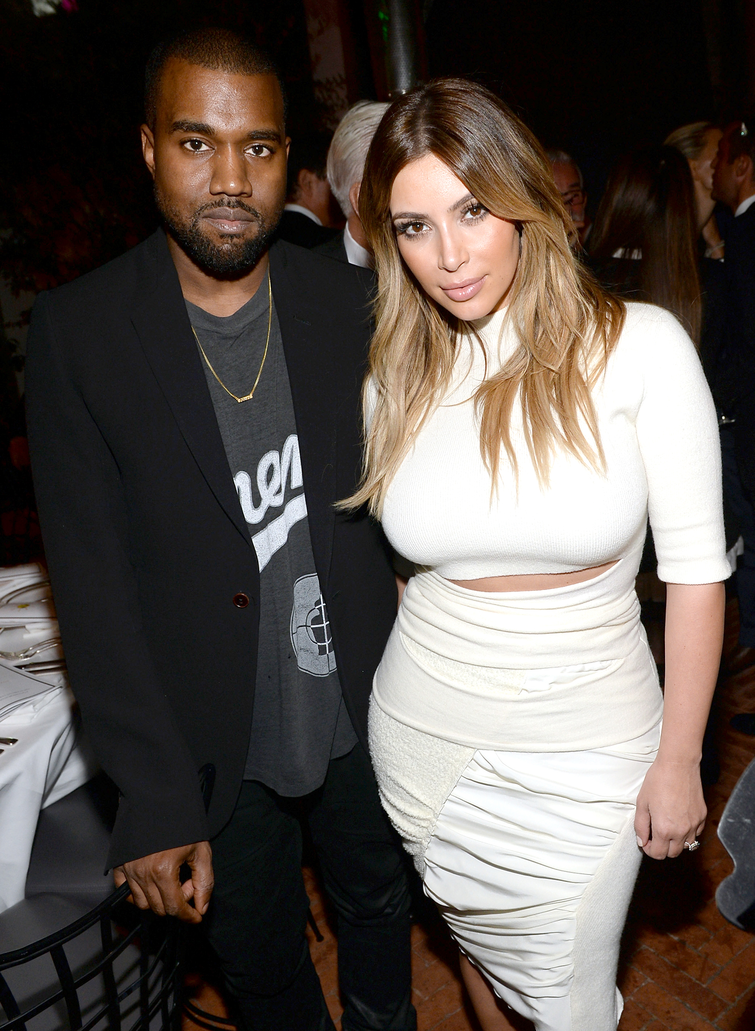 Kanye and Kim (Michael Buckner/WireImage)