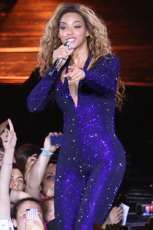 Beyonce in Milan (Splash News)