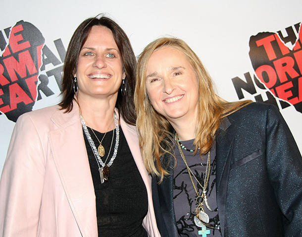 Linda Wallem and Melissa Etheridge are getting hitched (Getty Images)