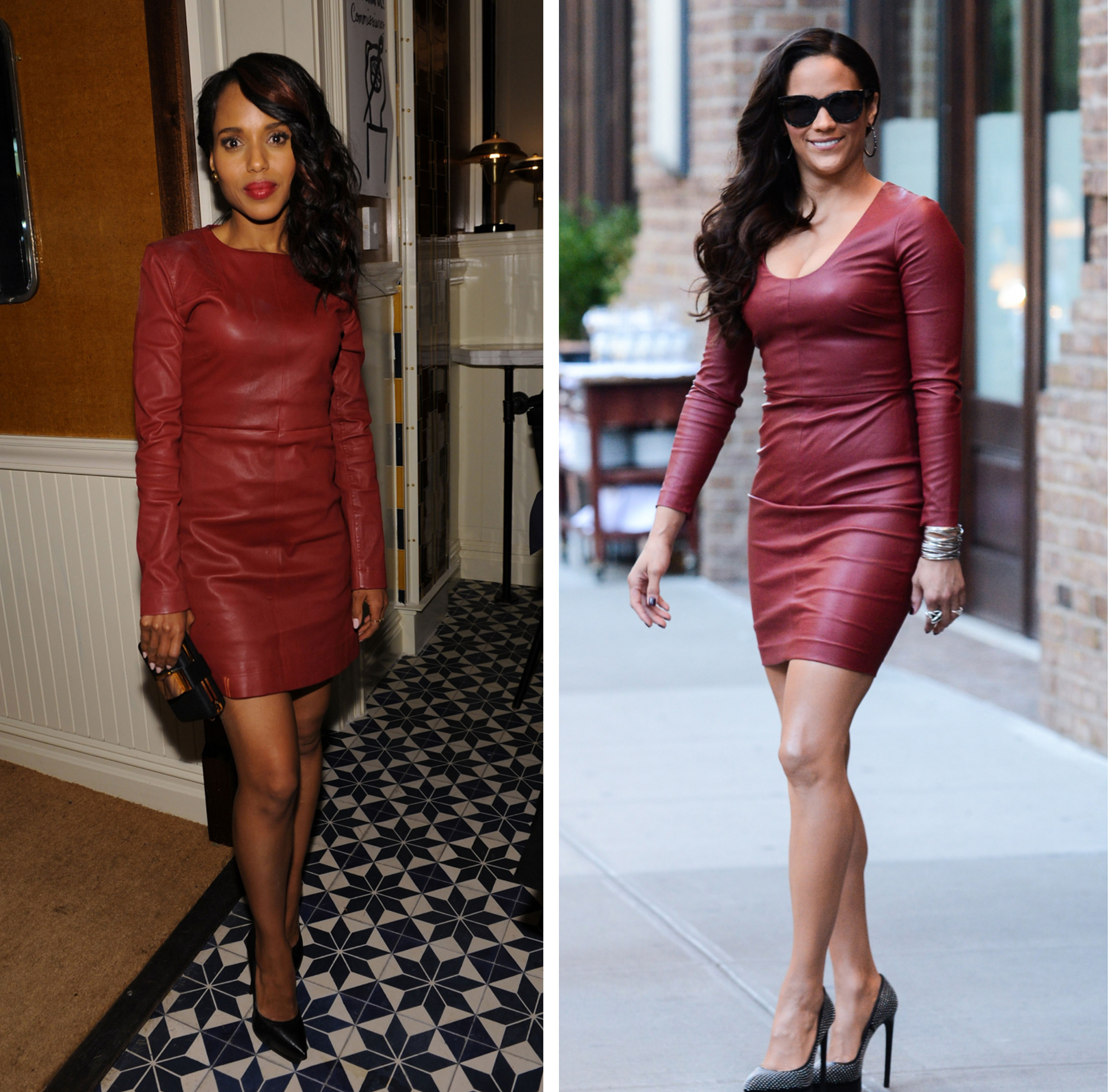Kerry Washington vs. Paula Patton (Getty)