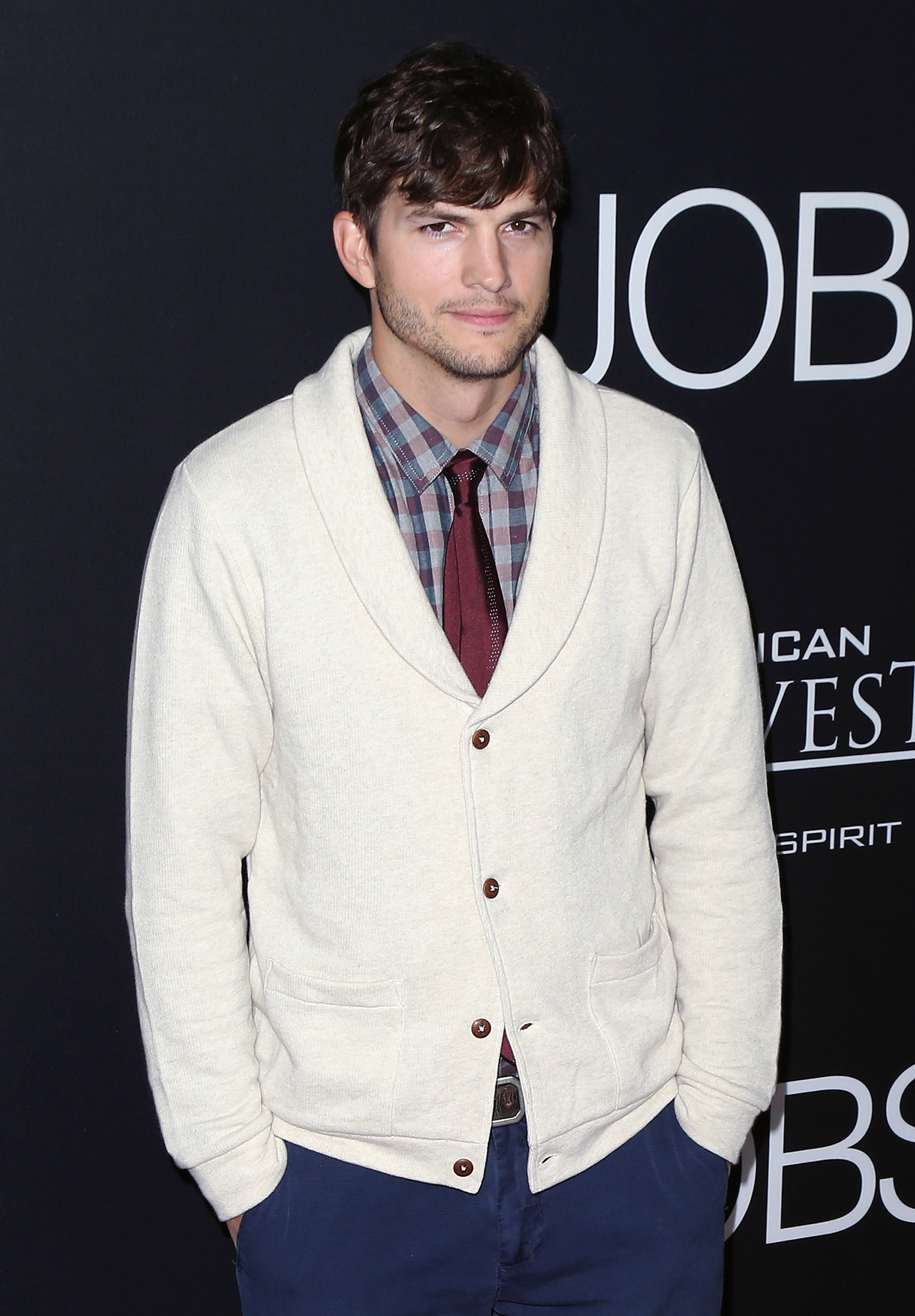 Ashton Kutcher at the L.A. premiere of 'Jobs' (Getty Images)