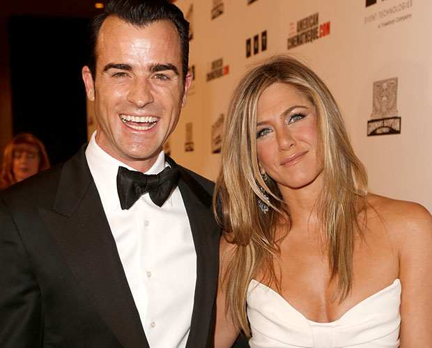 Jennifer Aniston and Justin Theroux (Getty Images)