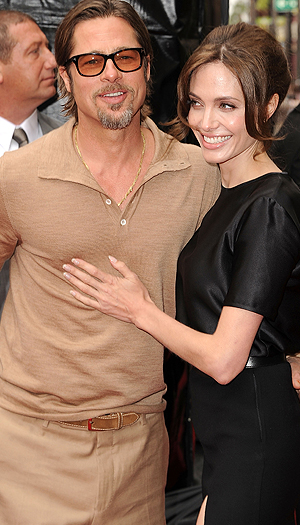 Brad Pitt and Angelina Jolie (WireImage)