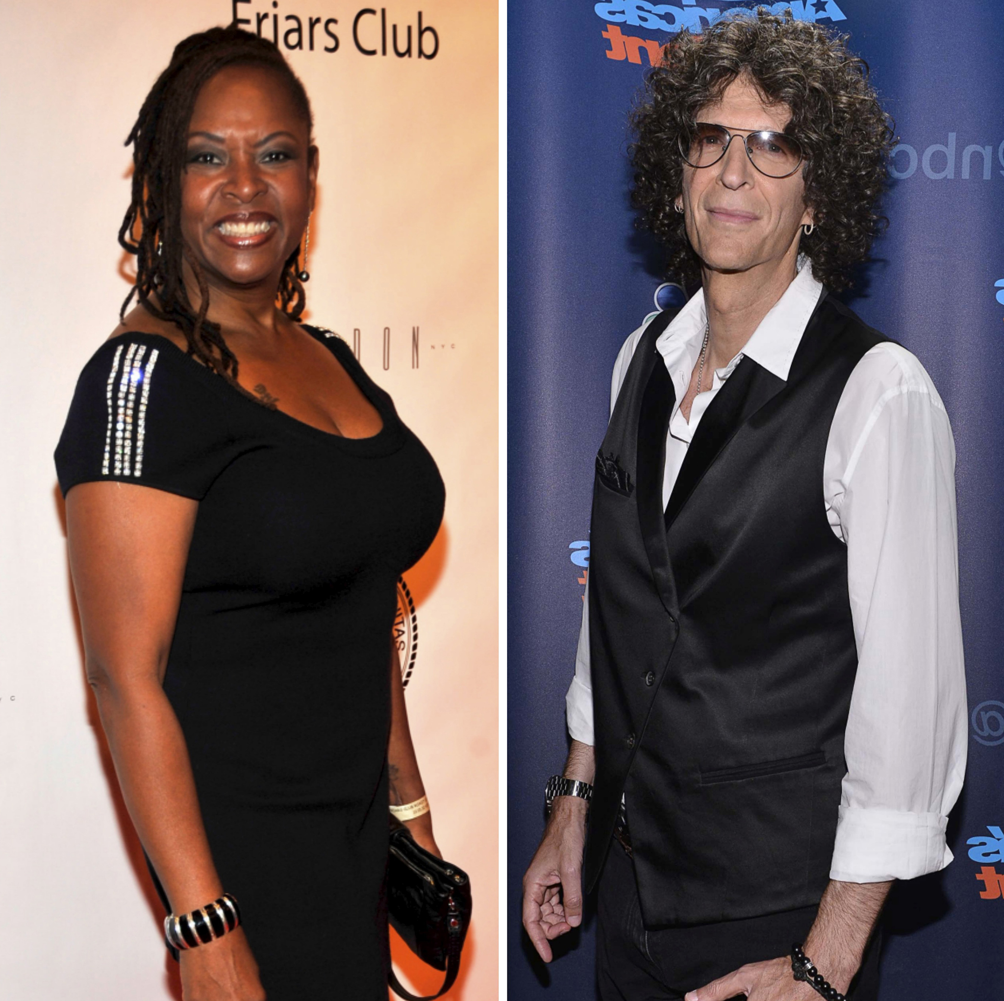 Robin Quivers and Howard Stern (Getty Images)