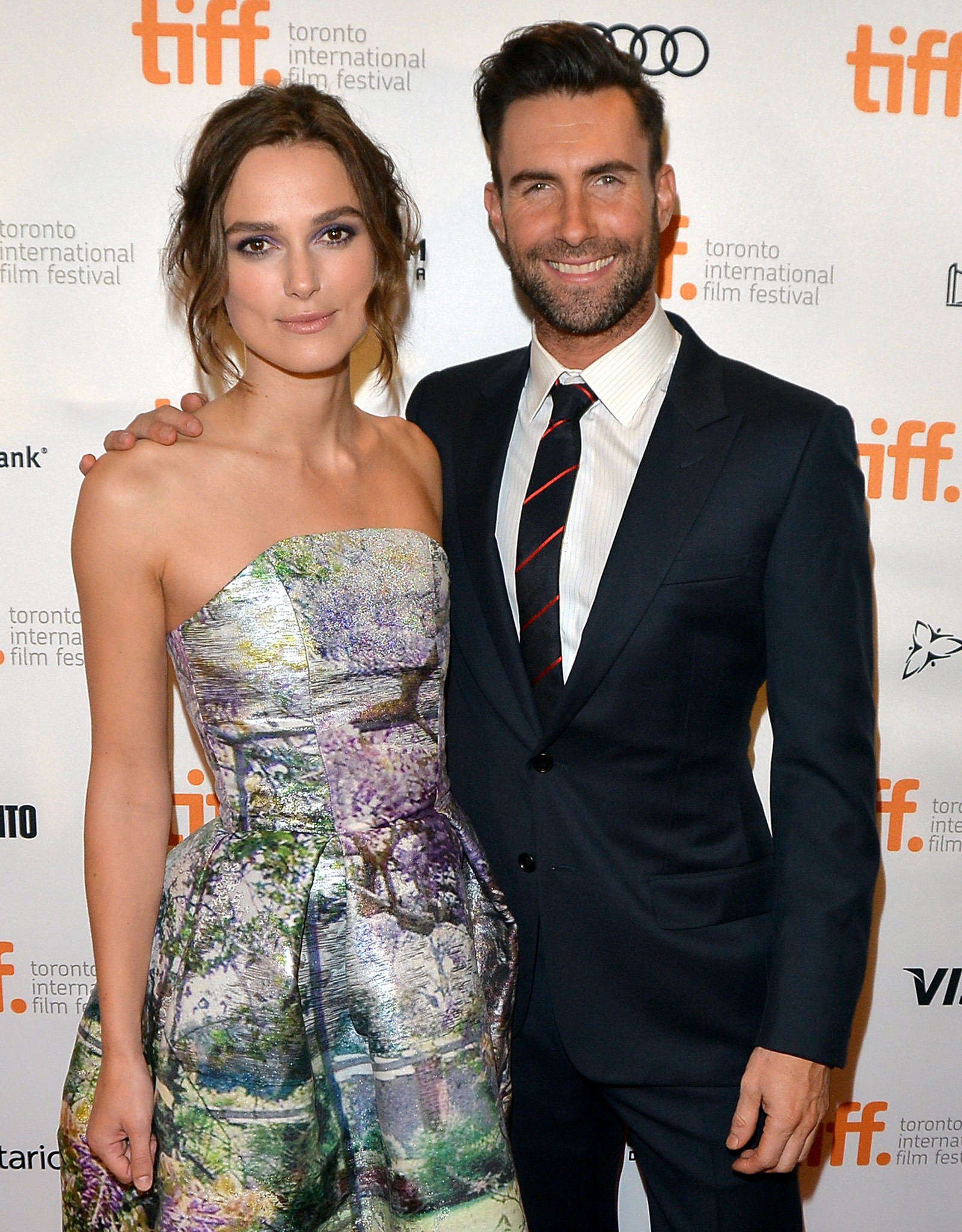 Keira Knightley and Adam Levine (George Pimentel/WireImage)