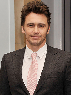James Franco on Tuesday (Getty Images)