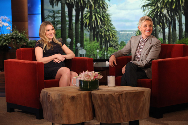Kristen Bell on 'Ellen' (Michael Rozman)