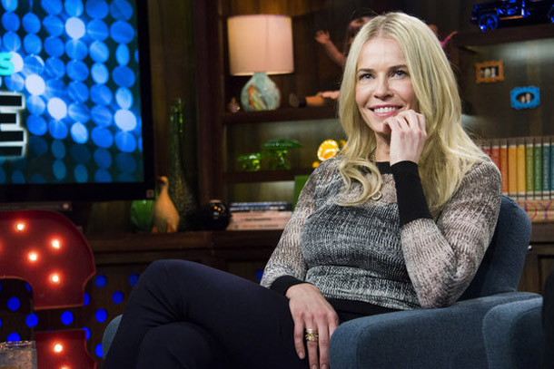 Chelsea Handler on the set of 'Watch What Happens Live' (Charles Sykes/Bravo)