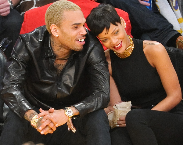 Chris Brown and Rihanna (Getty Images)