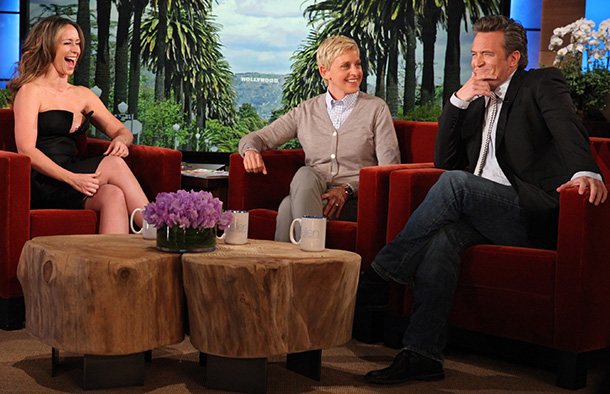 Jennifer Love Hewitt on 'The Ellen DeGeneres Show' (Michael Rozman/Warner Bros.)