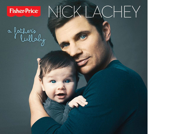 Nick Lachey's new solo album cover (Fisher-Price)