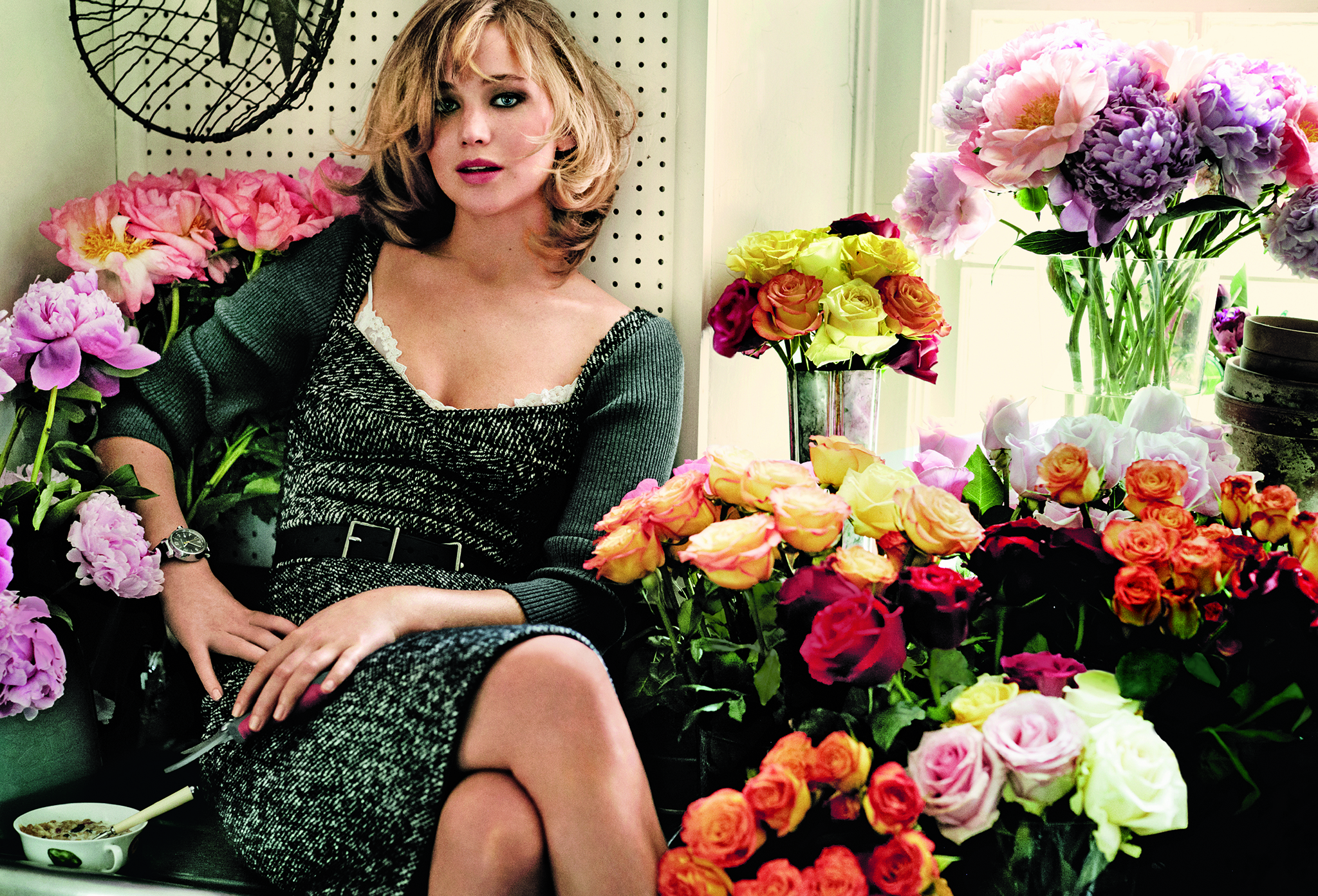 Jennifer Lawrence in the September issue of Vogue (VOGUE)