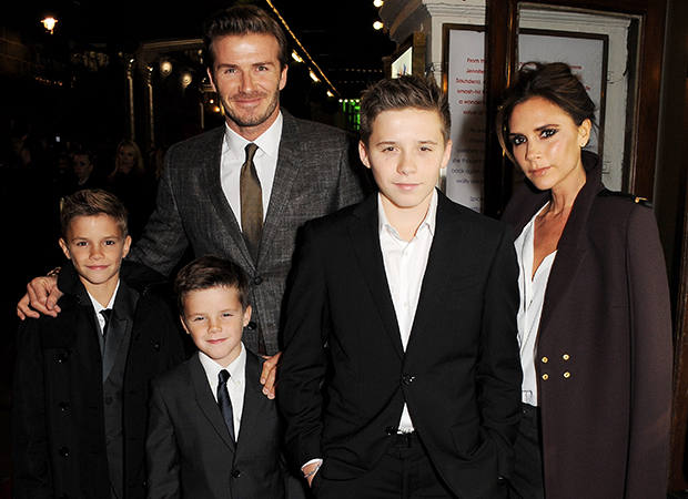 The Beckhams (Dave M. Benett/Getty Images)