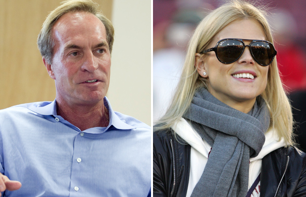 Chris Cline and Elin Nordegren (Andrew Harrer/Bloomberg/Ezra Shaw/Getty Images)