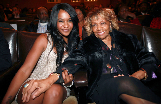 Bobbi Kristina and Cissy Houston in October 2012. (Shareif Ziyadat/FilmMagic)