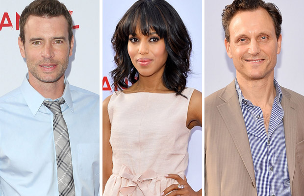 Scott Foley, Kerry Washington, Tony Goldwyn (Getty Images)