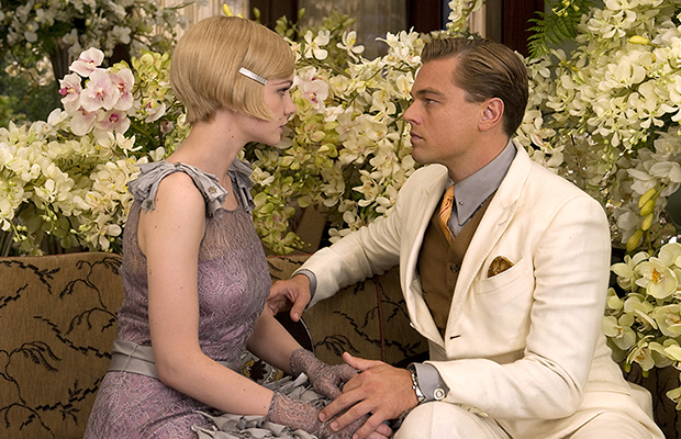 Carey Mulligan and Leonardo DiCaprio (Warner Bros)