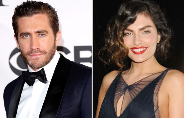Jake Gyllenhaal and Alyssa Miller (WireImage/Getty Images)