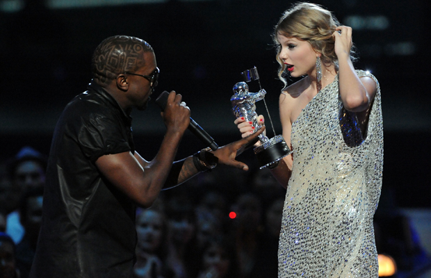 Kanye West told Taylor Swift that Beyonce had the best video of all time at 2009 VMAs. (Jeff Kravitz/Film Magic)