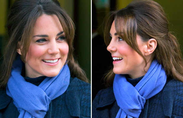 Kate Middleton and her coveted nose. (Samir Hussein/WireImage)