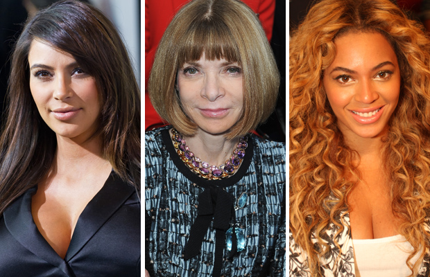 Kim Kardashian, Anna Wintour, Beyonce (Getty Images / FilmMagic)