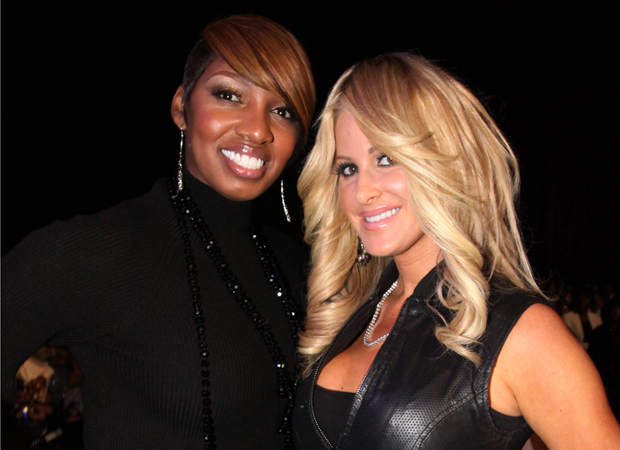 NeNe Leakes and Kim Zolciak back when they were BFFs. (Getty Images)