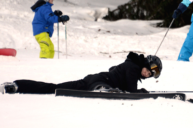 Who's that girl ... face down in the snow? (INFDaily.com)