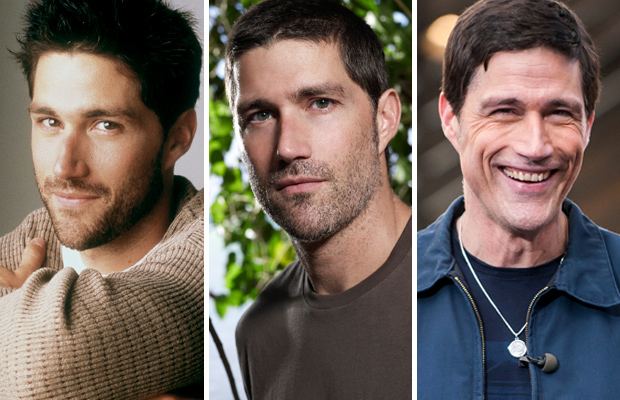 The handsome Matthew Fox over the years. (ABC/Getty Images/FAMEFLYNET PICTURES)
