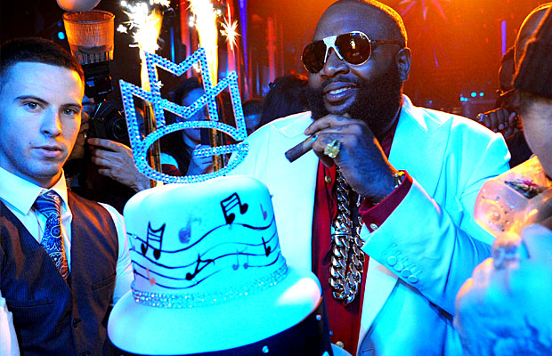 Rick Ross celebrated his birthday at a Miami club before the incident.