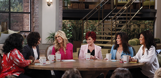 Sharon Osbourne on 'The Talk' (CBS)