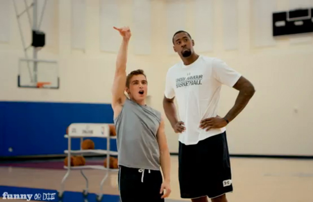 Dave Franco and DeAndre Jordan (Funny Or Die)