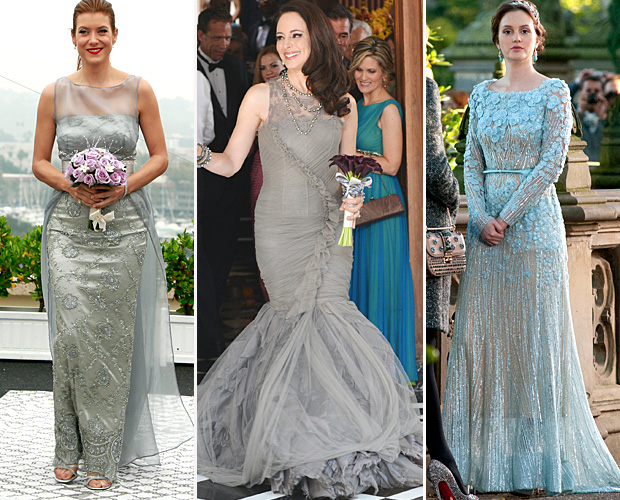 Kate Walsh on 'Private Practice' / Madeleine Stowe on 'Revenge' / Leighton Meester on 'Gossip Girl' (ABC / ABC / Splash News)
