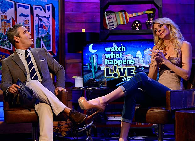 Glanville at the Watch What Happens Live clubhouse in Austin. (Getty Images)