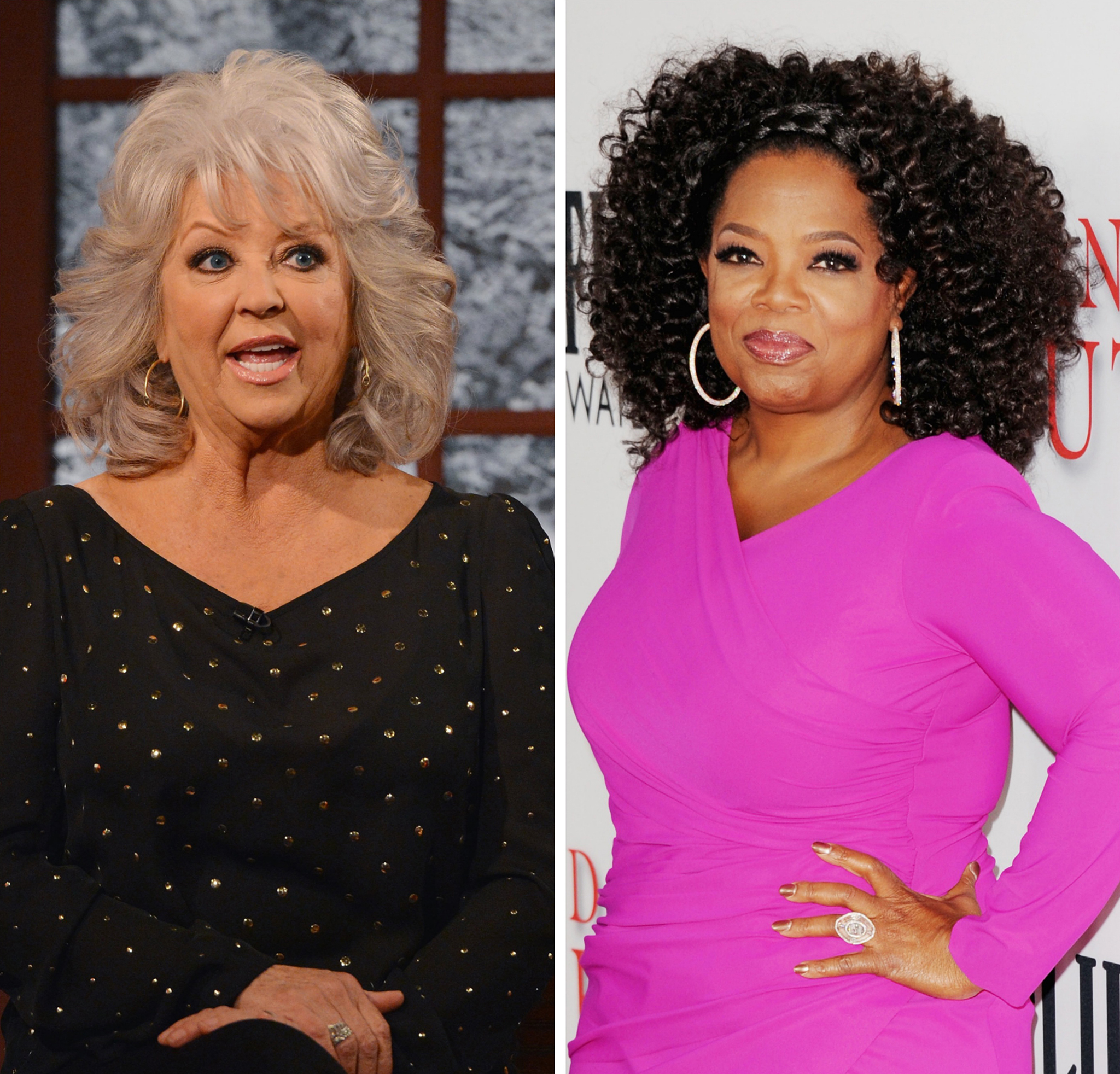 Paula Deen and Oprah Winfrey (Getty Images)