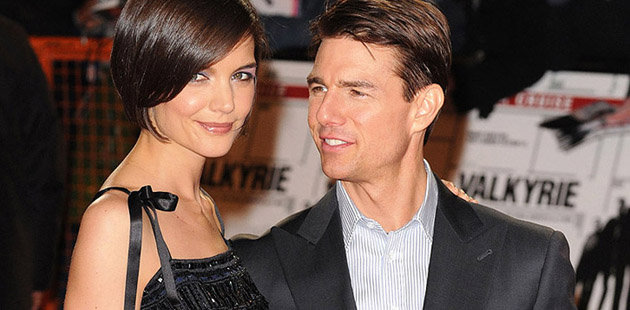 Katie Holmes and Tom Cruise: the way they were. (Getty Images)