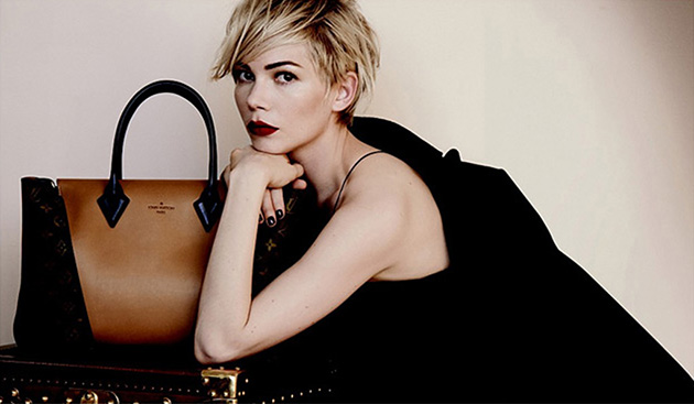 Michelle Williams stuns in Louis Vuitton ad. (Louis Vuitton)