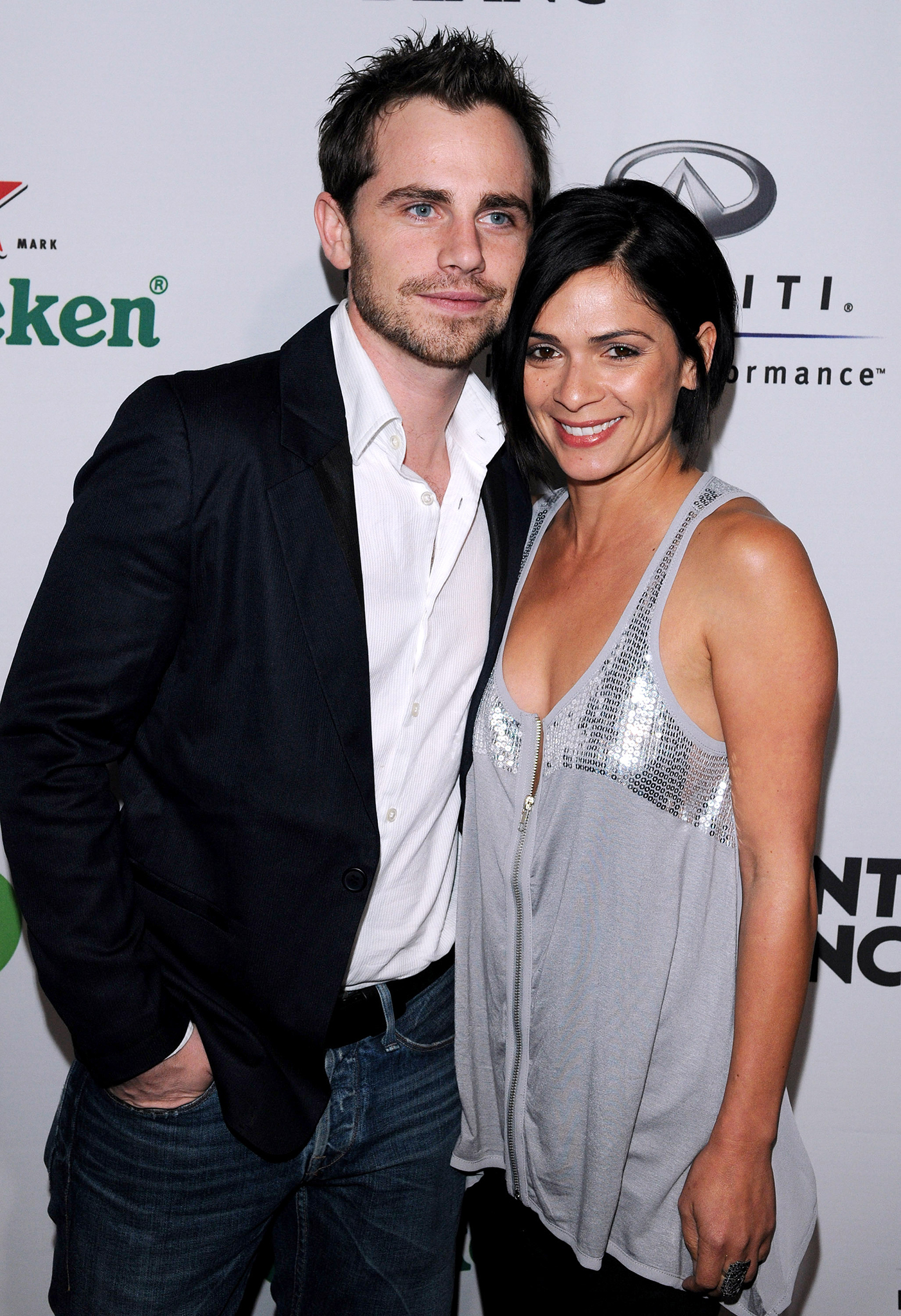 Rider Strong and Alexandra Barreto (Getty Images)