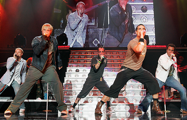 BSB hits the stage. (Wire Image)