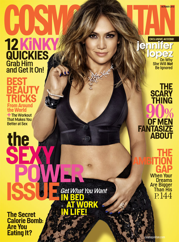 Jennifer Lopez covers Cosmo. (Matthias Vriens-McGrath)