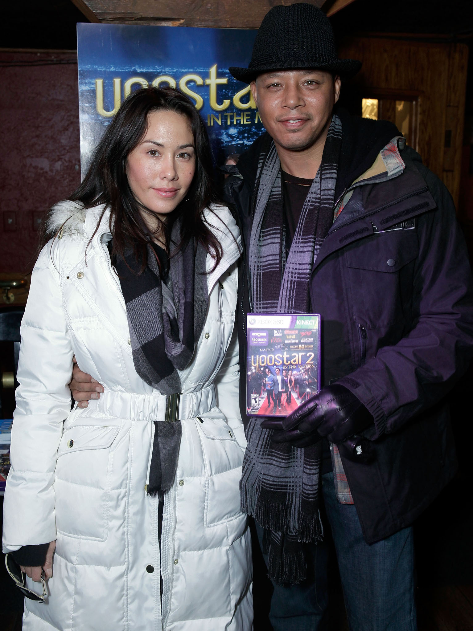 Michelle Ghent Howard and Terrence Howard (Getty Images)