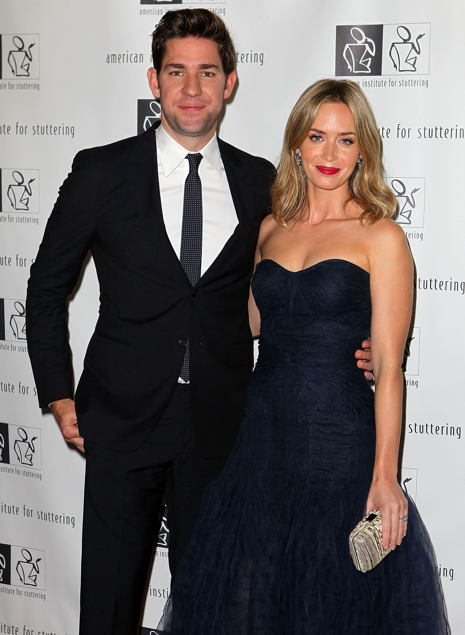 John Krasinski and Emily Blunt (Getty Images)