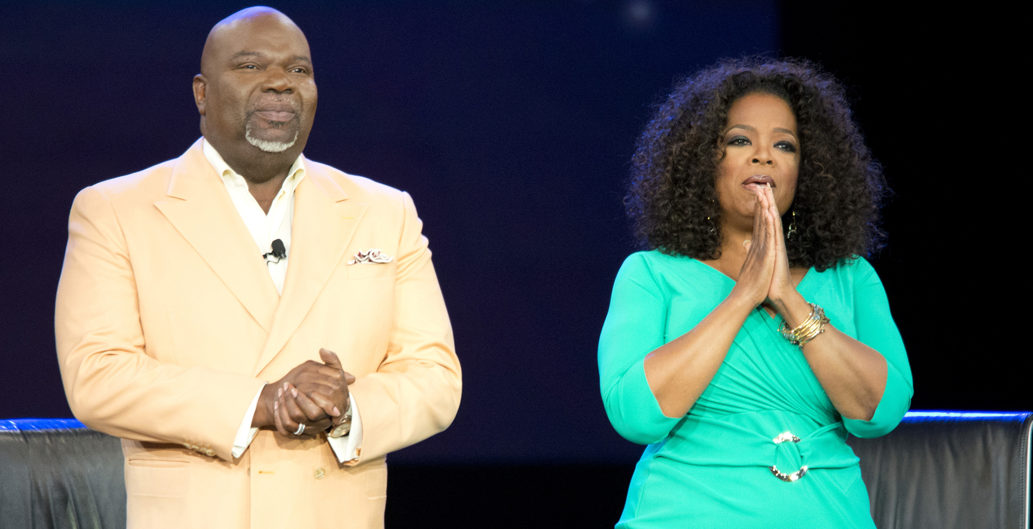 Bishop T.D. Jakes and Oprah Winfrey (Cooper Neill/Getty Images)