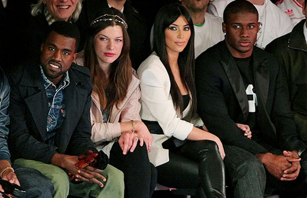 Did Kim (with former beau Reggie Bush) have eyes for Kanye in 2009? (WireImage)