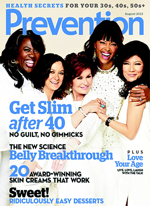 'The Talk' hosts cover Prevention magazine